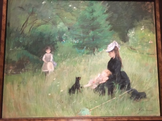 Past Berthe Morisot