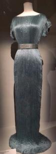 M Fortuny robe bleu