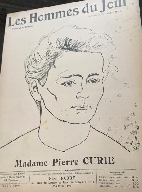 M Curie