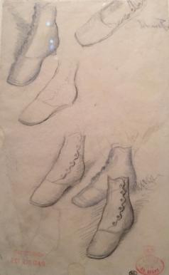 Degas des shoes