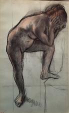 Degas nue rous