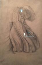 Degas plissé