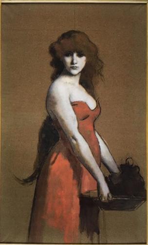 la femme en rouge@