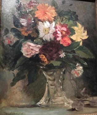 Del vase tra:dahlia