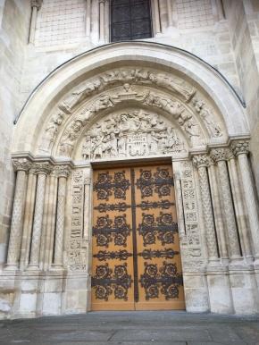 St Denis porche