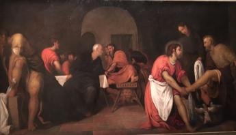 Tintoret Jésus lav pied