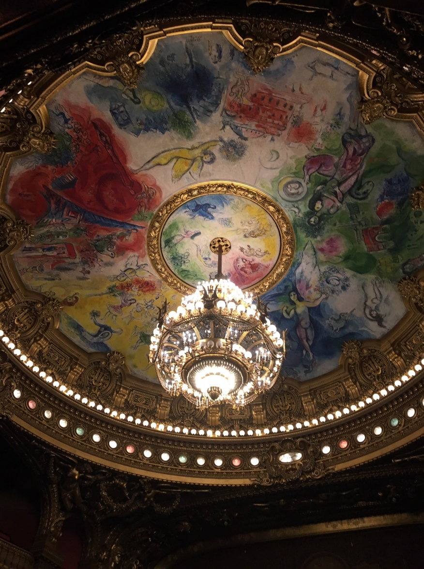 Opéra Garnier plafond