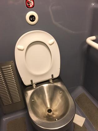 WC train ter