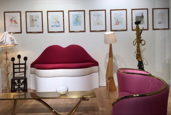 Sal Dali meubles