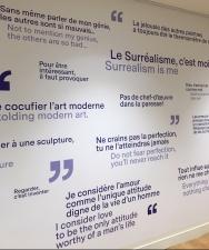 Sal Dali mur mots