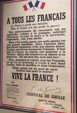 M J M décl Gn de Gaulle