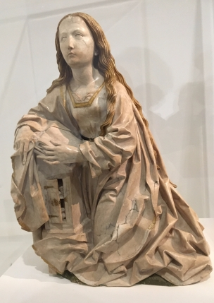 Mu Bx A vierge allemande 1500